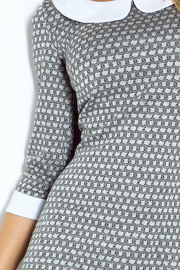 6fd5b40f3 Business šaty s okrúhlym golierom   Butiksilvia.sk