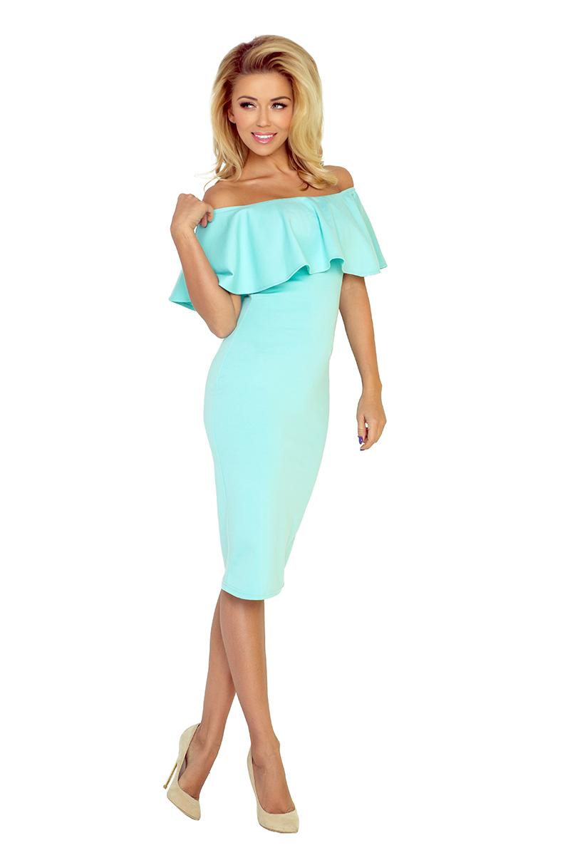 879f631b8d 138-1 Sukienka hiszpanka - MIĘTOWA    numoco