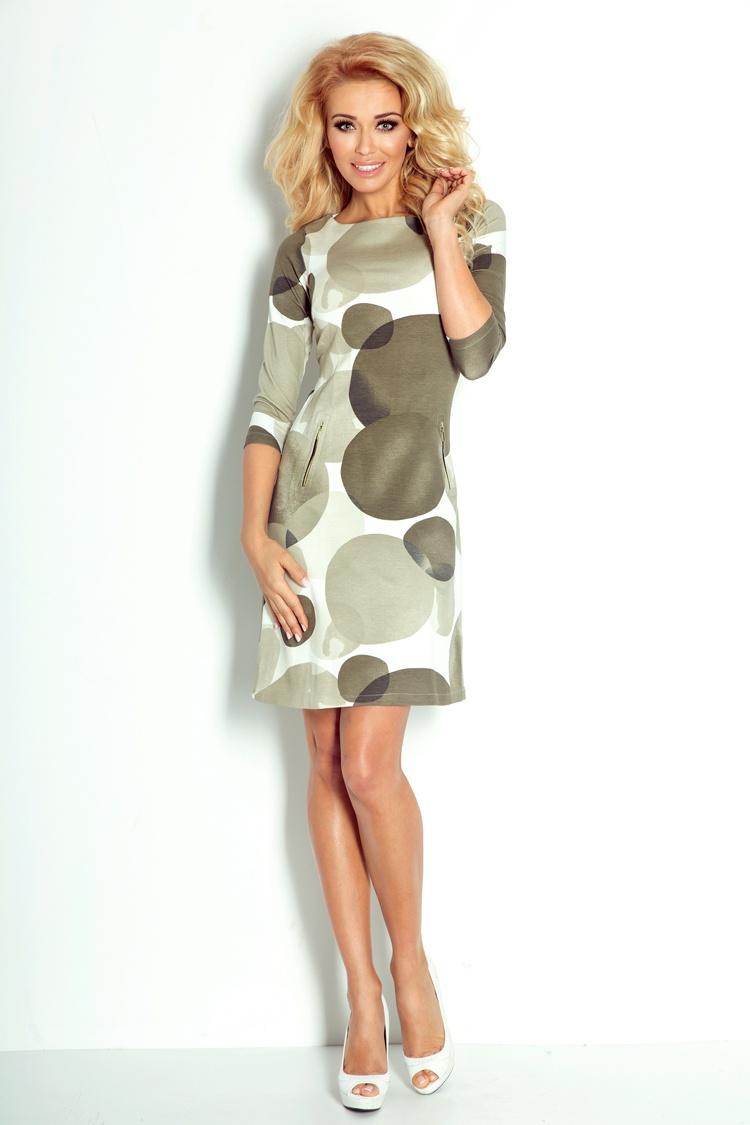 38-11 šaty so zipsami - veľký Zelený kruh