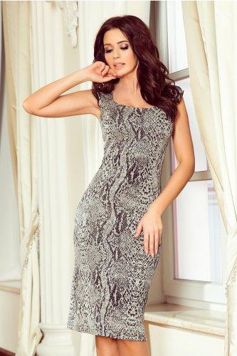 e128f5b83a 53-31 Dopasowana sukienka - BORDOWA lacosta    numoco