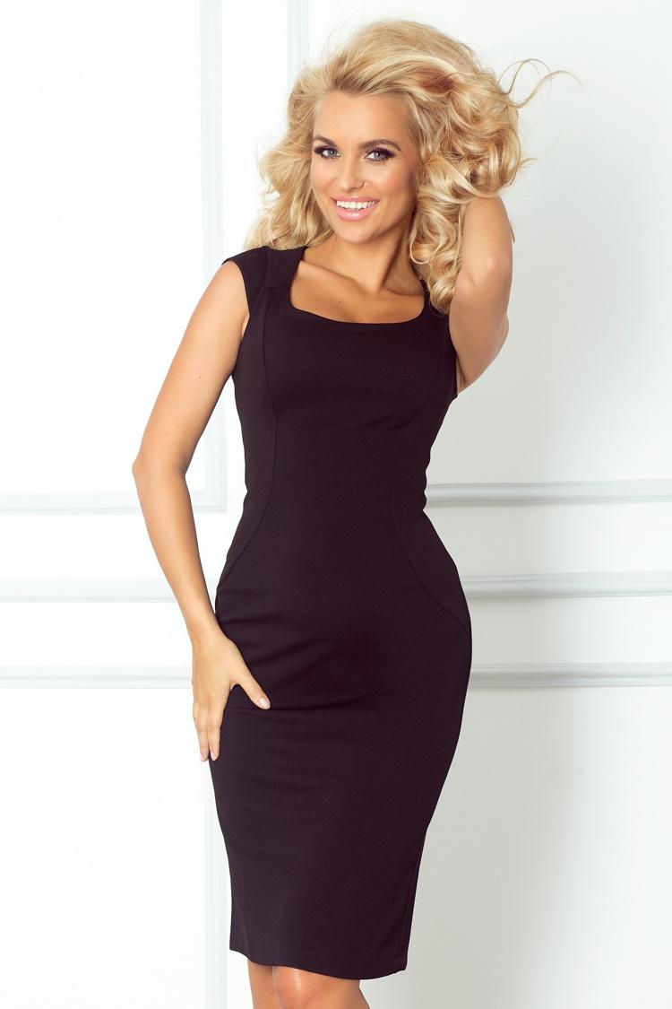 Elegantné dámske šaty čierne  ee31470d3e8