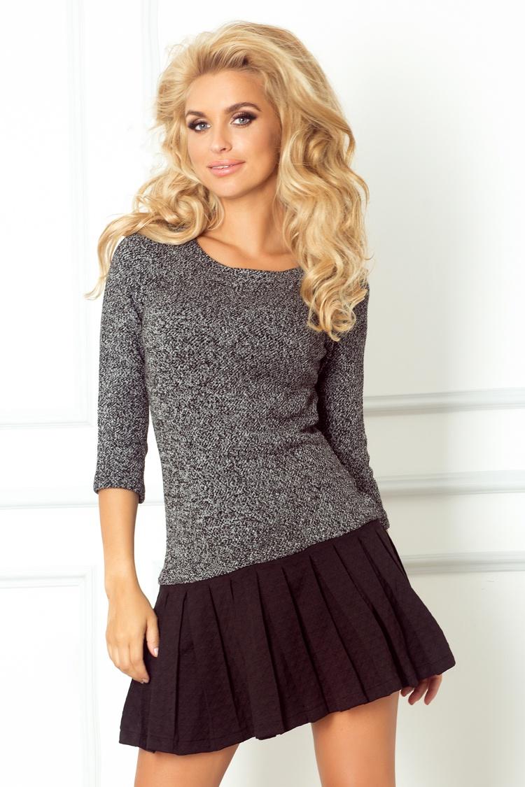 73-1 sveter s plisovanou dno