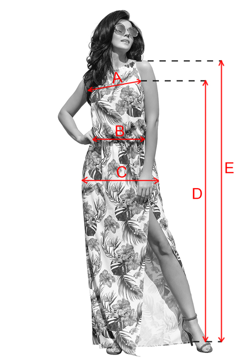 maxi sukienka zwiewna w kwiaty